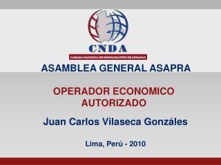 Juan Carlos Vilaseca Gonzáles