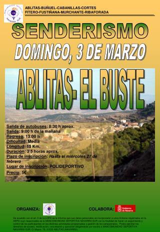 DOMINGO, 3 DE MARZO