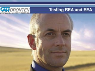 Testing REA and EEA