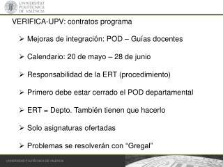 VERIFICA-UPV: contratos programa