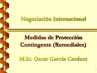 Negociaci�n Internacional
