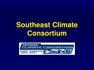 Southeast Climate Consortium