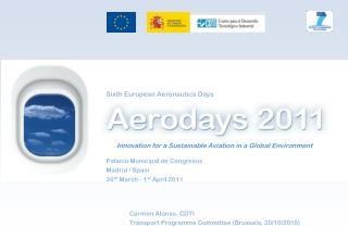 Innovation for a Sustainable Aviation in a Global Environment