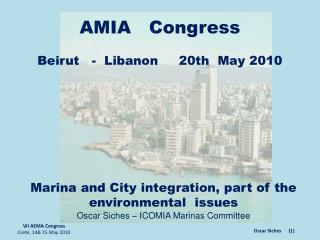 VII AEMA Congress Crete, 14& 15 May 2010