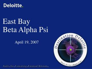 East Bay Beta Alpha Psi