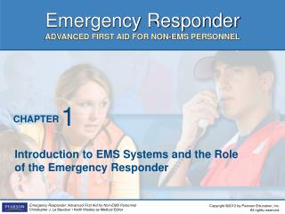 Introduction to EMS Systems and the Role of the Emergency Responder