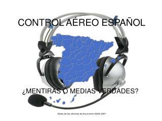 CONTROL AÉREO ESPAÑOL