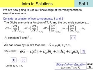 Intro to Solutions