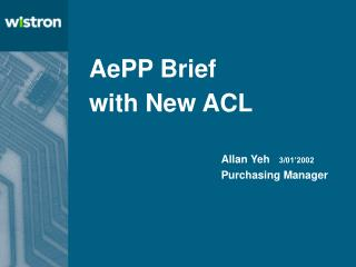 AePP Brief with New ACL