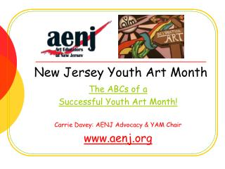 New Jersey Youth Art Month