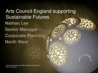 Arts Council England supporting Sustainable Futures