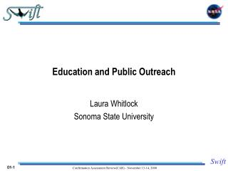 Education and Public Outreach