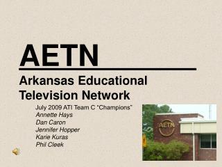 AETN Arkansas Educational Television Network