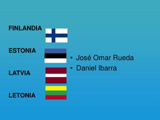 José Omar Rueda Daniel Ibarra