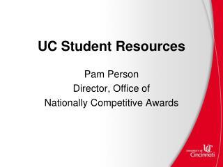 UC Student Resources