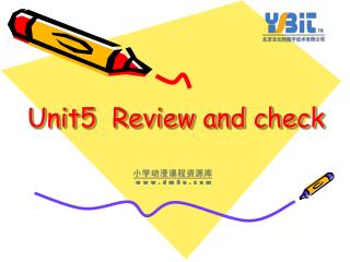Unit5  Review and check