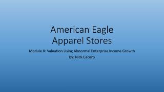 American Eagle Apparel Stores