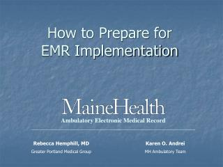 How to Prepare for EMR Implementation