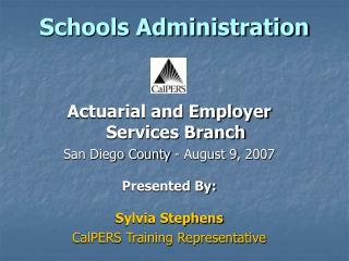 Schools Administration