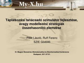 Pitlik László, Ruff Ferenc SZIE Gödöllő