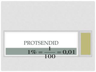 Protsendid