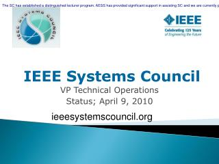 IEEE Systems Council