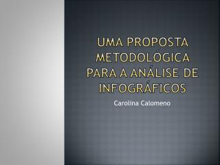 Uma proposta metodológica para a análise de infográficos