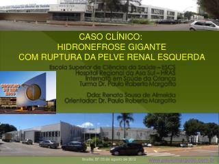 Escola Superior de Ci�ncias da Sa�de � ESCS Hospital Regional da Asa Sul � HRAS