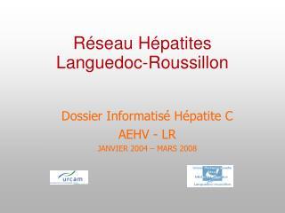 Réseau Hépatites  Languedoc-Roussillon