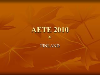 AETE 2010