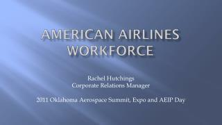 AMERICAN AIRLINES WORKFORCE