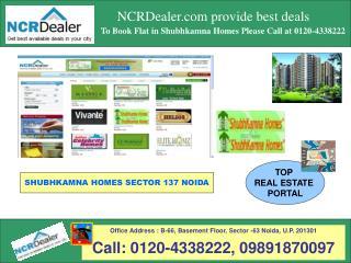 Affordable flats in Noida Sector 137 Shubhkamna Homes
