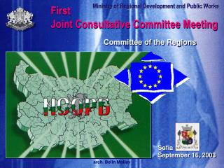 First  Joint Consultative Committee Meeting