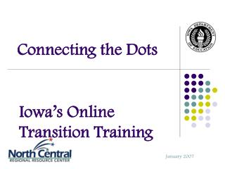 Iowa's Online Transition Training