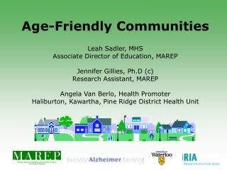 Age-Friendly Communities
