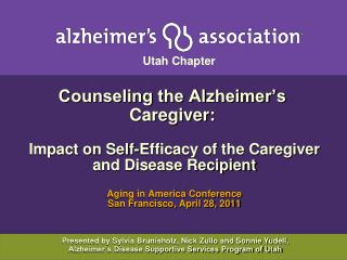Counseling the Alzheimer's Caregiver:
