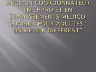Personnes handicapées adultes = situation de dépendance similaire aux personnes âgées