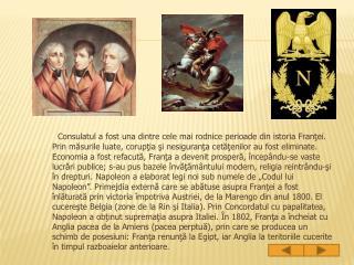 Primul Imperiu Francez(1804-1815).