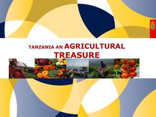 TANZANIA AN  AGRICULTURAL TREASURE