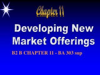 Developing New Market Offerings