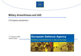 Military Airworthiness and UAS