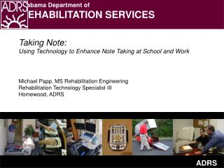 Taking Note: Using Technology to Enhance Note Taking at School and Work