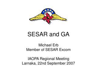 SESAR and GA