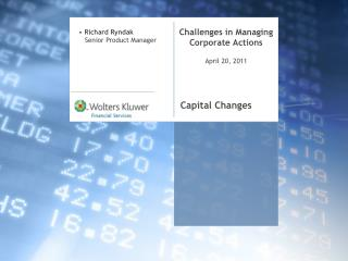 Challenges in Managing Corporate Actions