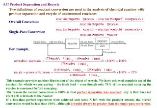 4.7f Product Separation and Recycle