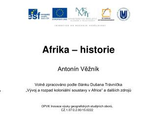 Afrika – historie