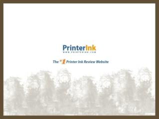 Printer Ink - Online Printer Ink Reviews & Coupons