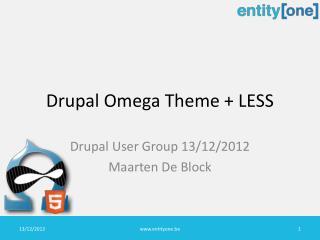 Drupal  Omega  Theme  + LESS