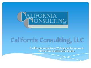 California Consulting, LLC