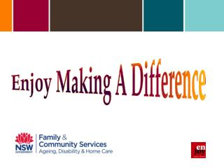 Enjoy Making A Difference
